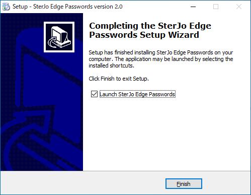 SterJo Edge Passwords