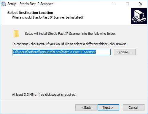 SterJo Fast IP Scanner