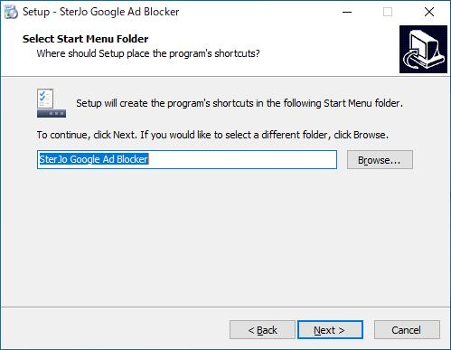 SterJo Google Ad Blocker