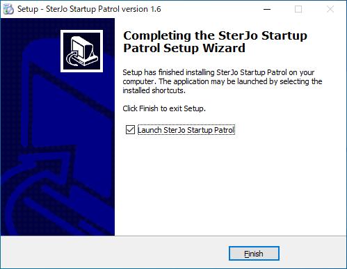 SterJo Startup Patrol