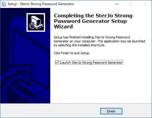 SterJo Strong Password Generator