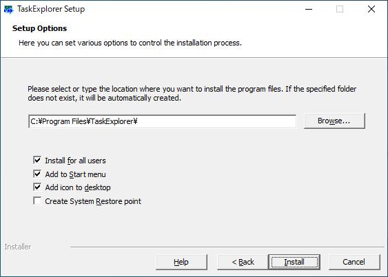 Task Explorer