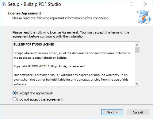 Bullzip PDF Studio