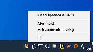 ClearClipboard