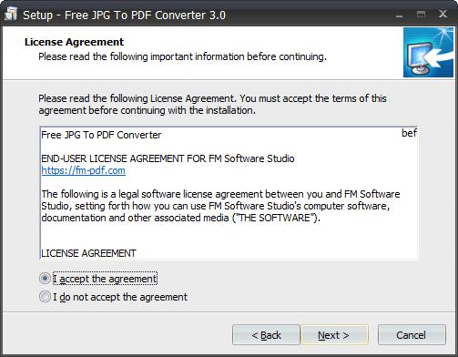 Free JPG To PDF Converter