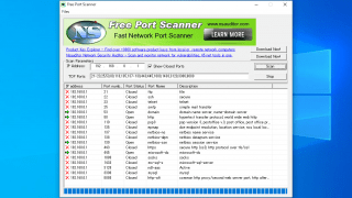 Free Port Scanner