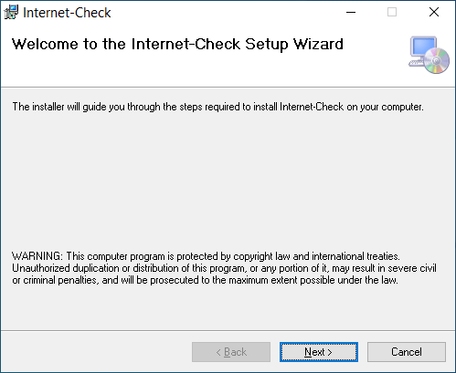 Internet Check