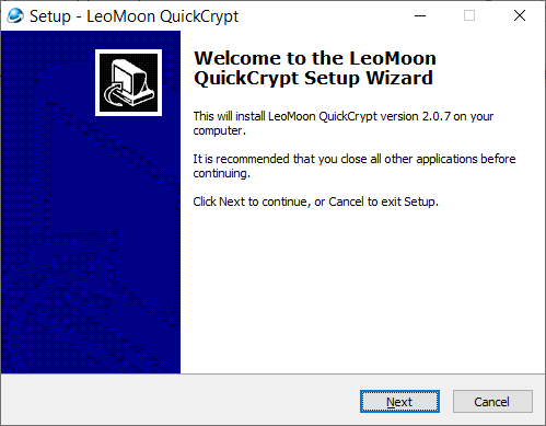 LeoMoon QuickCrypt