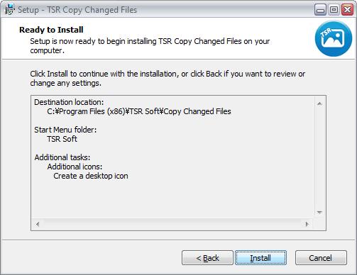 TSR Copy Changed Files