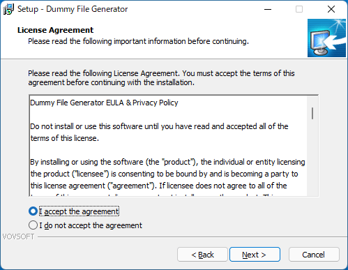 Dummy File Generator