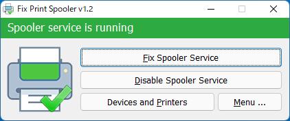 Fix Print Spooler