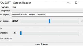 Screen Reader
