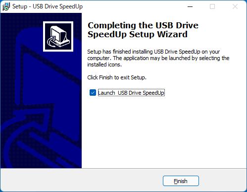 USB Drive SpeedUp